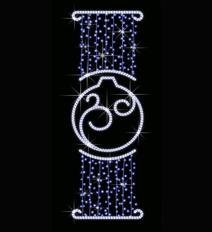 Новогодний шар СК-121