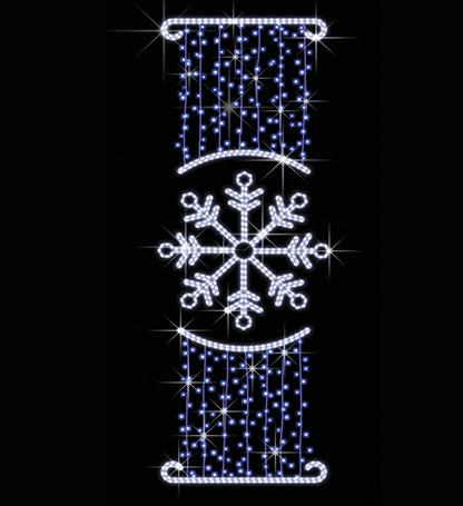Новогодняя снежинка СК-122