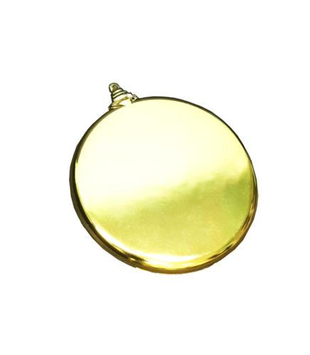Шар  плоский золото